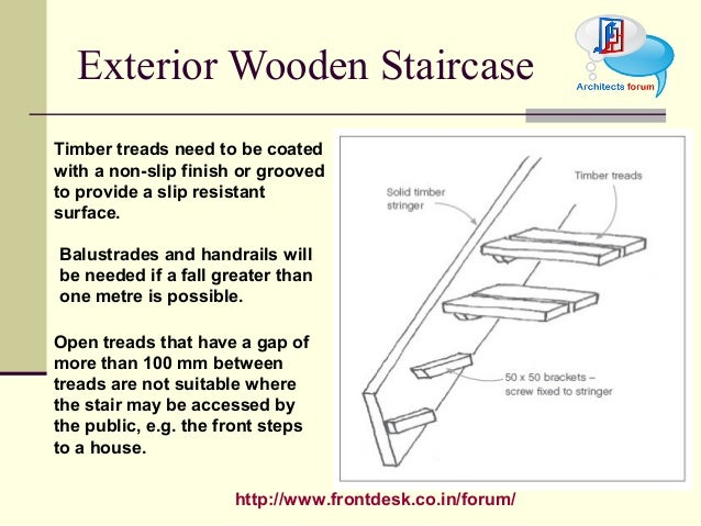 22. Http://www.frontdesk.co.in/forum/ Exterior Wooden Staircase Timber  Treads ...