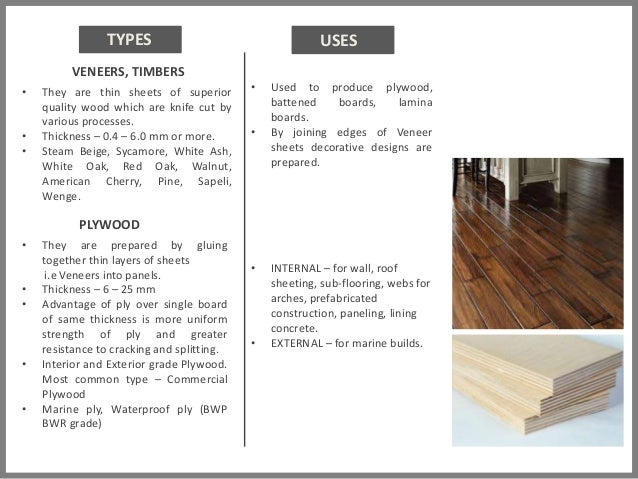 Wood Paint Glass Material Presentation