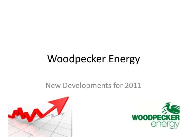 Woodpecker Energy<br />New Developments for 2011<br />