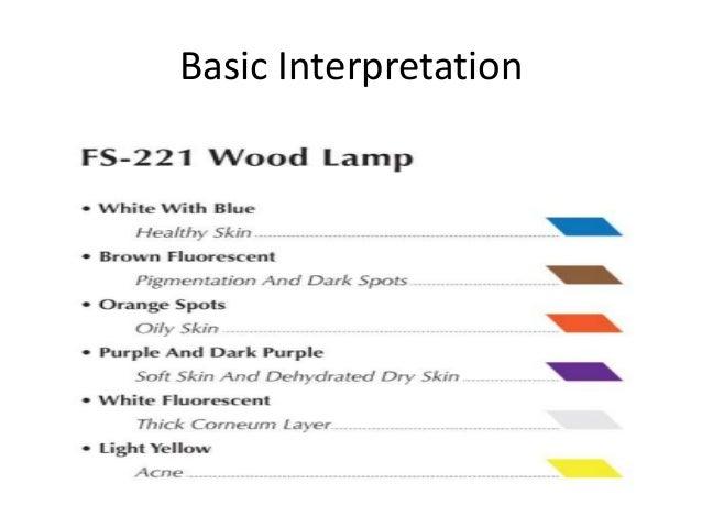 Basic Interpretation U2022 Aaa; 7. Applications Of Woodu0027s Lamp ...