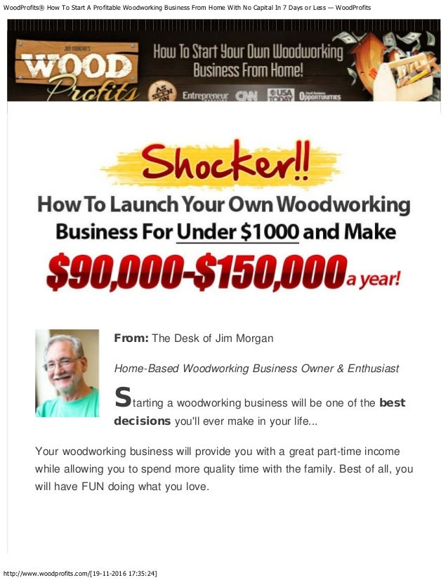 Wood Working Business From Home Business From Home