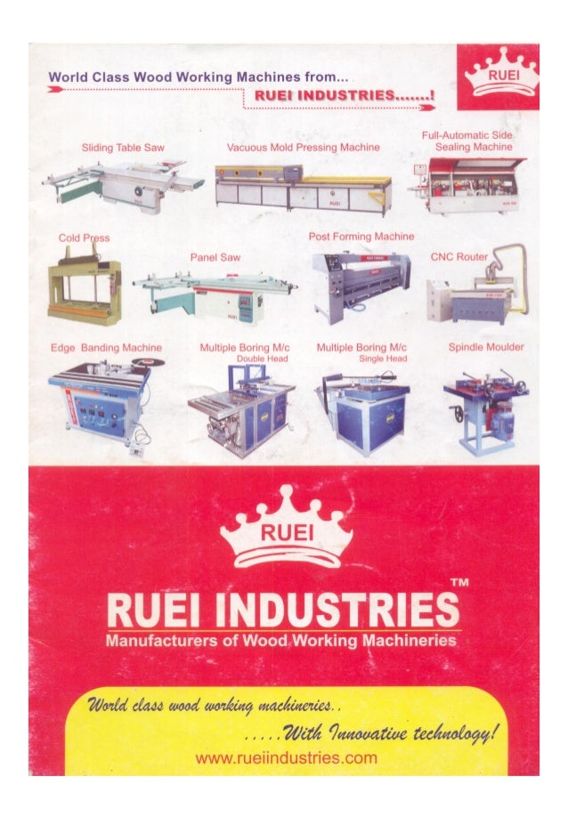 Ruei Industries, Coimbatore, Woodworking Machinery & Furniture