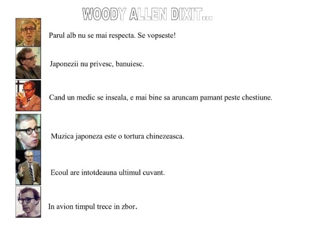 Woody Allen Dixit