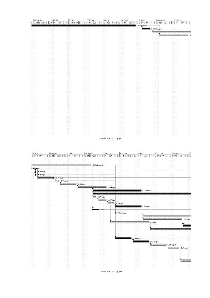 woody 2000 project gantt chart Prj: how to change the font and font size of gantt bar text it is sometimes necessary to change the font information for labels that appear around gantt bars in microsoft project more information to change a font, font style.