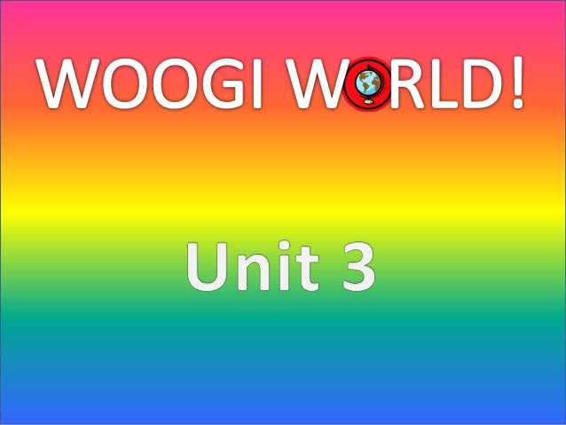 Based on what we learned on woogi world, safety is; • Be sure with who are you talking to. • If you notice that something ...