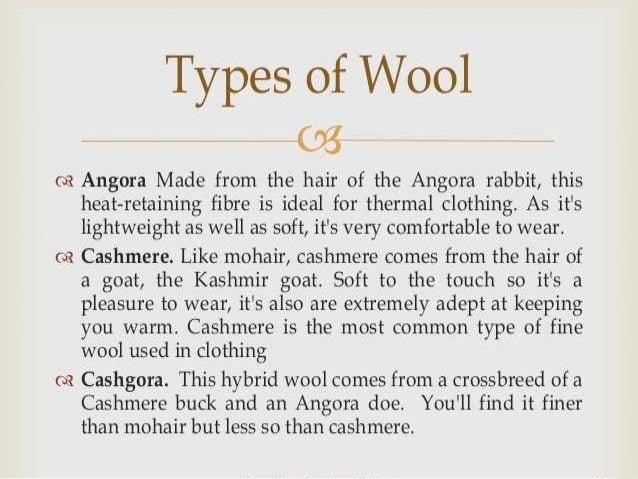 Wool Ppt