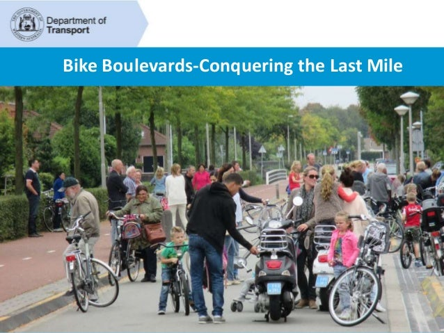 Bike Boulevards-Conquering the Last Mile