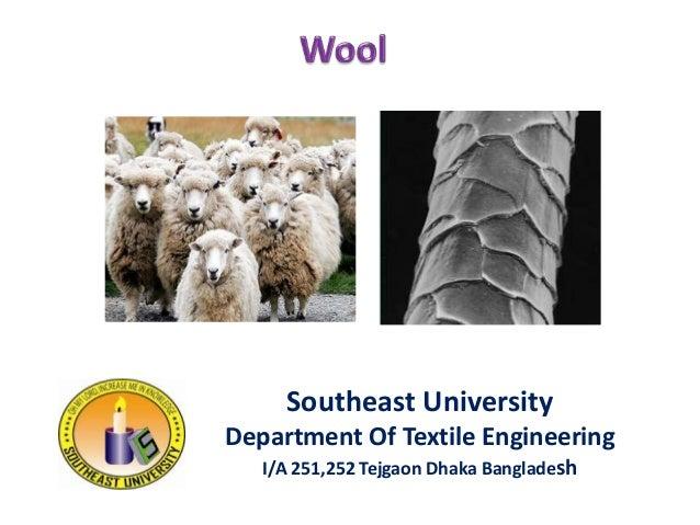 Southeast University Department Of Textile Engineering I/A 251,252 Tejgaon Dhaka Bangladesh