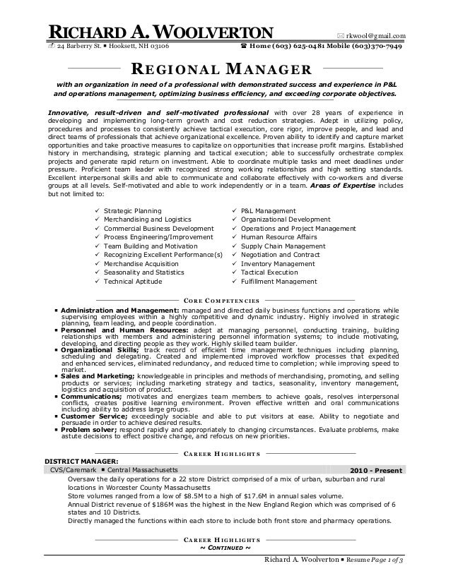 Richard Woolverton Resume