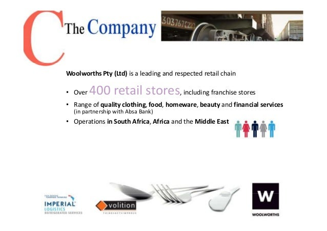 woolworths competitive advantage Metcash and woolworths  and enhancing healthy, competitive markets for the benefit of consumers  innovate and react to competition.