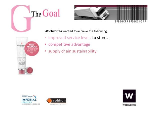 woolworths case study