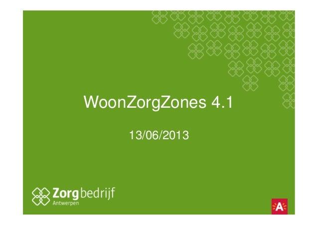 WoonZorgZones 4.113/06/2013