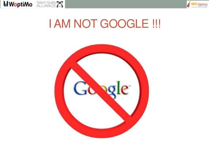 Les penalites de Google : SEO Camp'us 2012 Slide 3