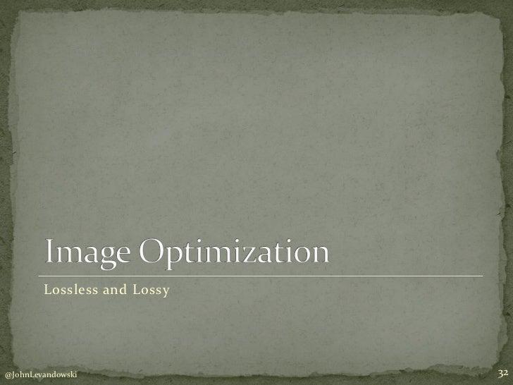 WordPress Performance Optimization for Mere Mortals slideshare - 웹