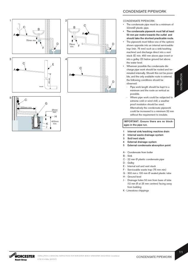 worcester greenstar 40 cdi conventional installation
