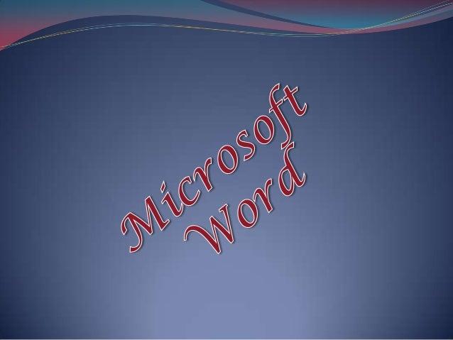 O Microsoft Word é um processador de texto produzido pela Microsoft. Foi criado por Richard Brodie para computadores IBM P...