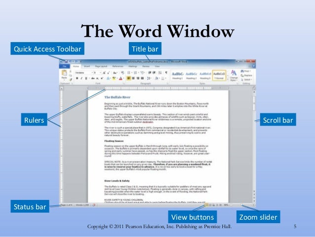 ms office word - the basic program
