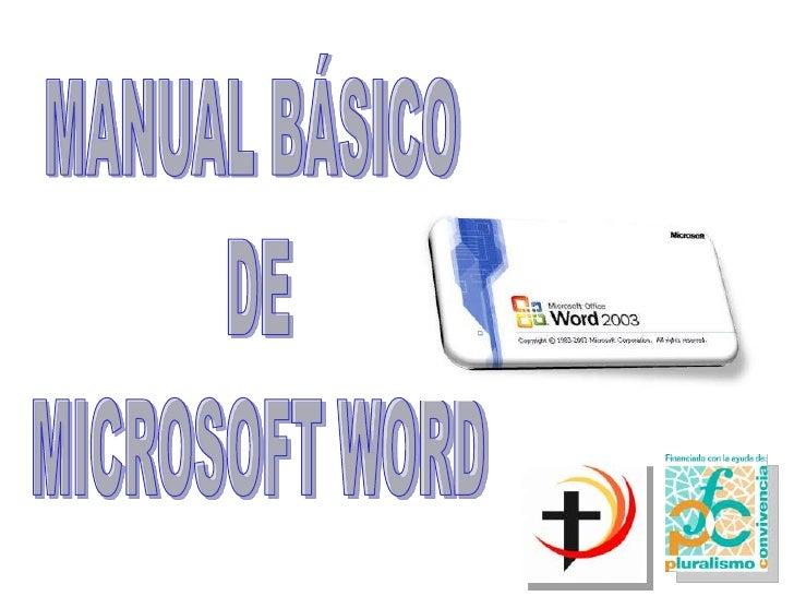 1. PRIMER CONTACTO CONMICROSOFT WORDPara realizar un documento en Microsoft Word, como es lógico, loprimero que hay que ha...