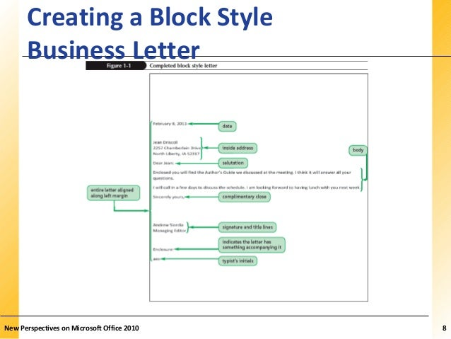 Word 1 microsoft office 2010 7 8 xpxpxp creating a block style business letter spiritdancerdesigns Images