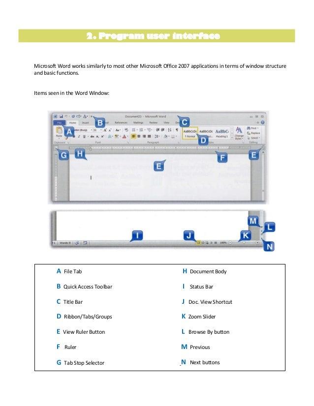 Ms word 2010 tutorial