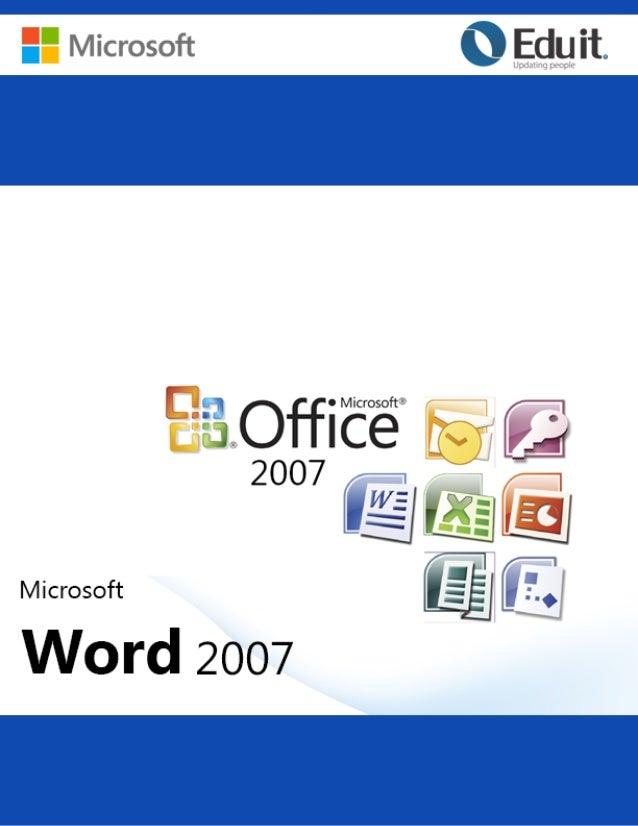 Microsoft Word 2007  1