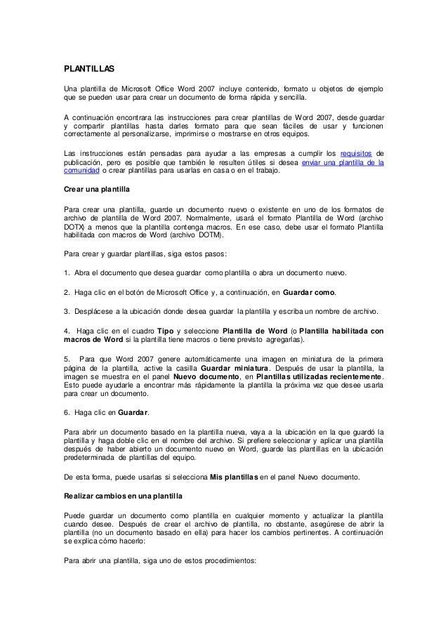 Asombroso Trabajo Resume Word Plantilla 2007 Molde - Colección De ...