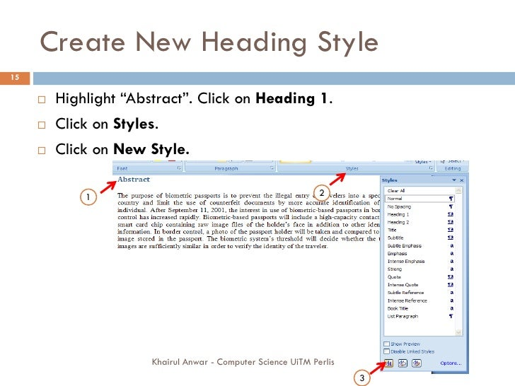thesis writing using word 8-1 getting started guide - chapter 8: using endnote while writing a paper in microsoft word continue with this part of the tour if you use microsoft word 2007, or 2010.