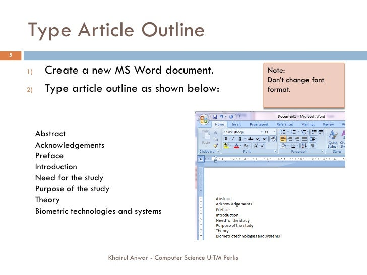 Writing a thesis in microsoft word