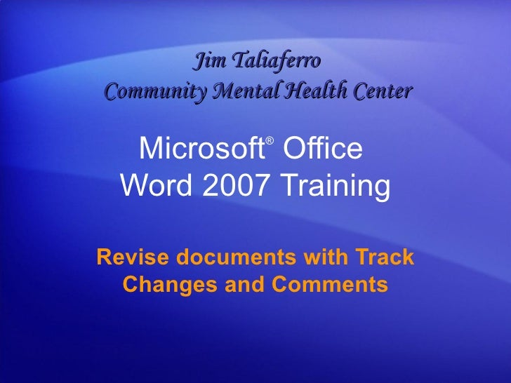 how to change name on microsoft word comments