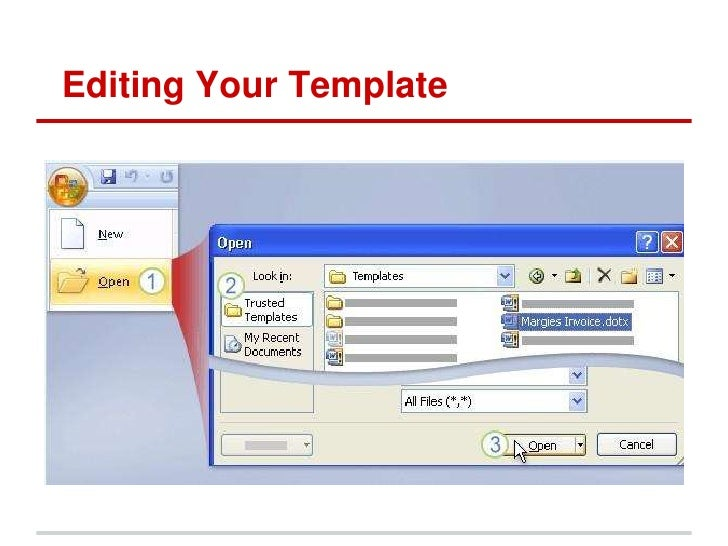 template word 2007