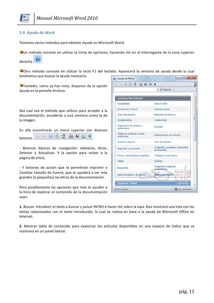 microsoft word 2010 en pdf