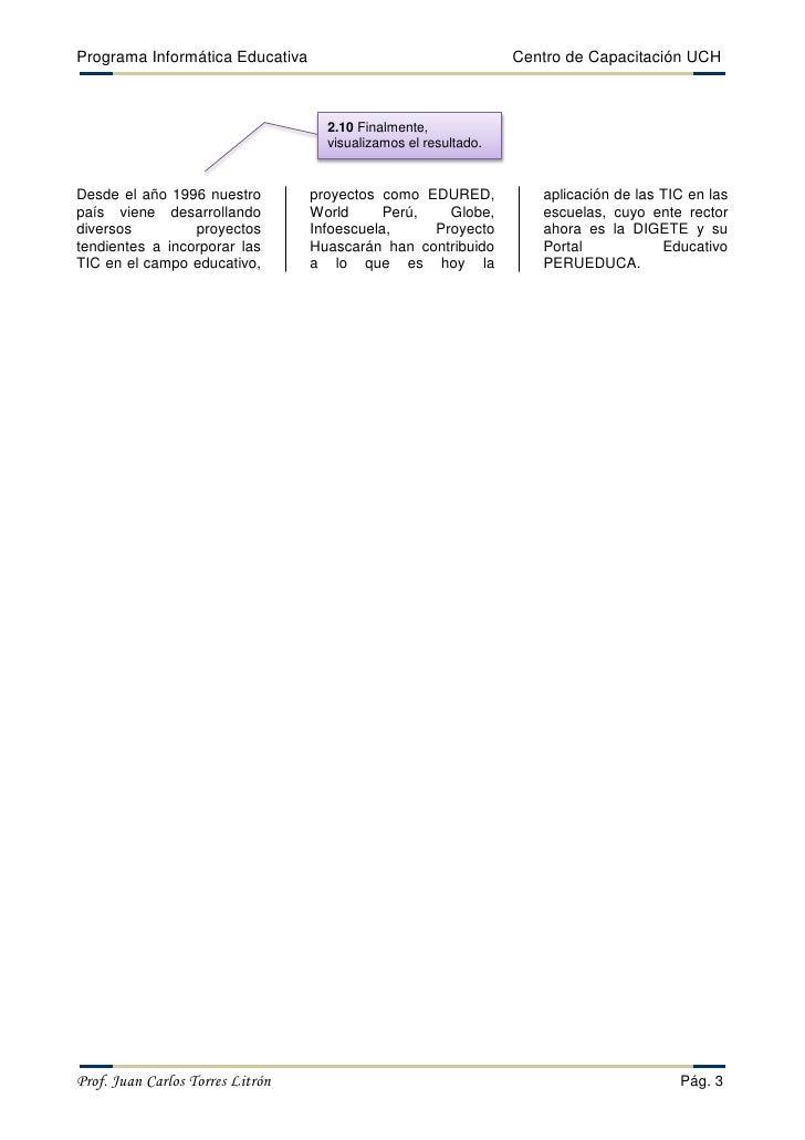 Word 2010 guía-columnas Slide 3