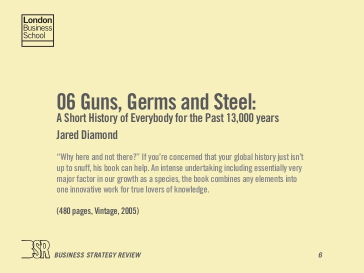"guns germs and steel summary Supersummary, a modern alternative to sparknotes and cliffsnotes, offers high-quality study guides for challenging works of literature this 74-pages guide for ""guns, germs and steel"" by jared diamond includes detailed chapter summaries and analysis covering 19 chapters, as well as several more in-depth sections of expert-written literary analysis."
