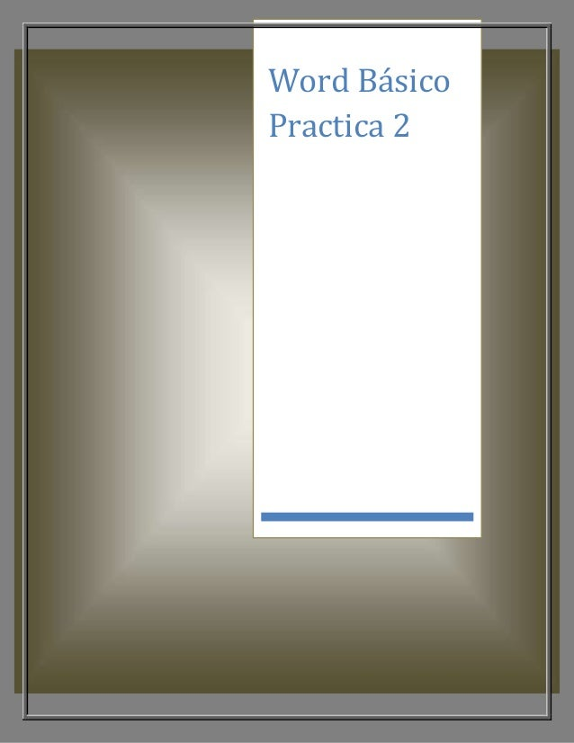 Word Básico Practica 2
