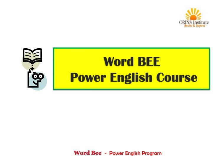 Word BEEPower English Course     - Power English Program