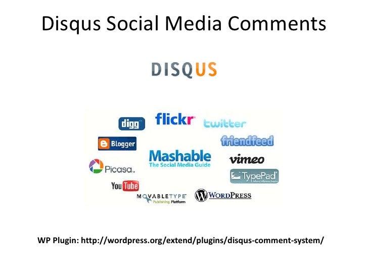 Disqus Social Media Comments     WP Plugin: http://wordpress.org/extend/plugins/disqus-comment-system/