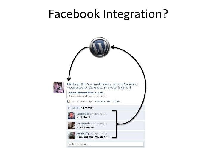 Facebook Integration?