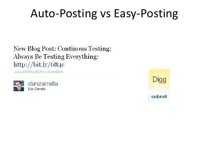 Auto-Posting vs Easy-Posting