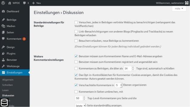 WordPress aufräumen - WordCamp Stuttgart