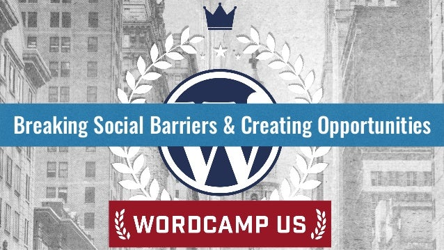 Breaking Social Barriers & Creating Opportunities