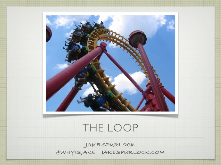 THE LOOP         JAKE SPURLOCK @WHYISJAKE JAKESPURLOCK.COM