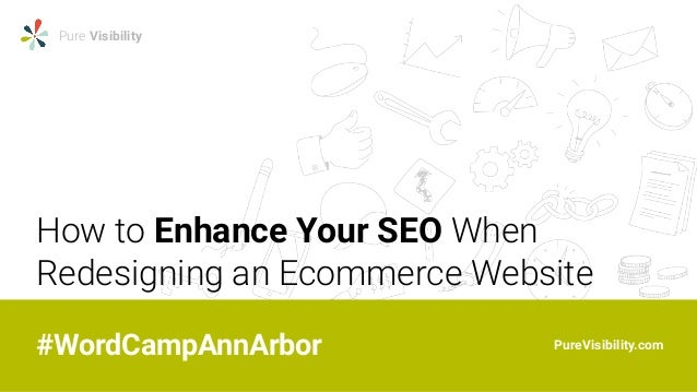 How to Enhance SEO When Redesigning an Ecommerce Website Slides