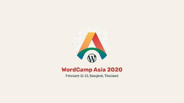 アジア初開催の フラッグシップ WordCamp! ●WordCamp Asia WordCamp WordCamp US WordCamp Europe 2 ● 16 ! ● WordCamp !