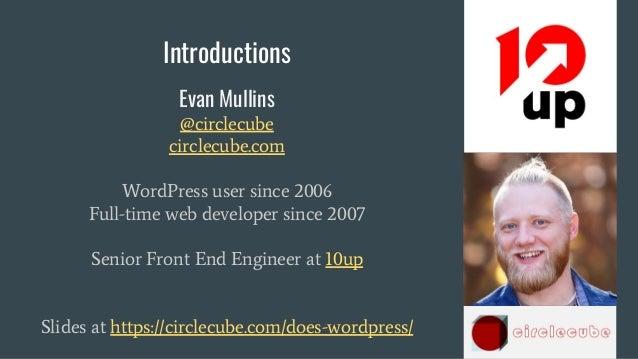 WordCamp Atlanta -  April 15 2018 - dev team workflow and processes with wordpress Slide 2