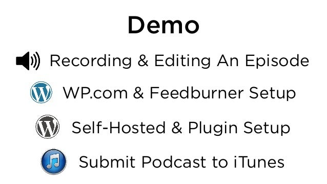 Power Your Podcast with WordPress - Workshop - WordCamp Baltimore 2013 slideshare - 웹