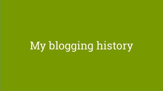WordCamp Birmingham 2017 - Blogging strategies for 2018 Slide 3