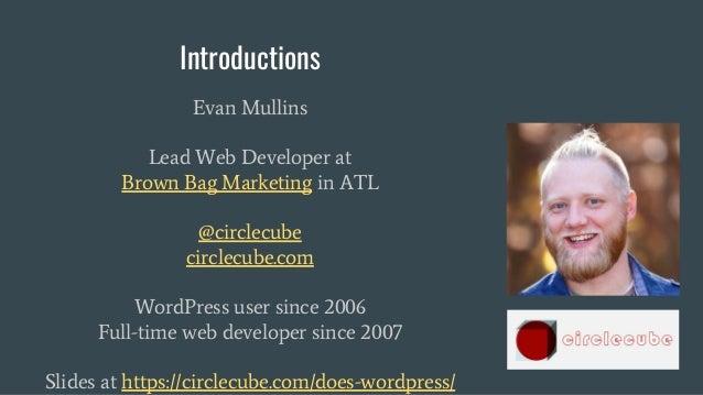 WordCamp Greenville 2018 - Beware the Dark Side, or an Intro to Development Slide 3