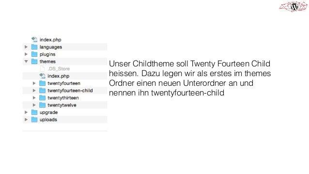 In dieses neue Verzeichnis wird nun eine Datei style.css angelegt, mit folgenden Inhalt