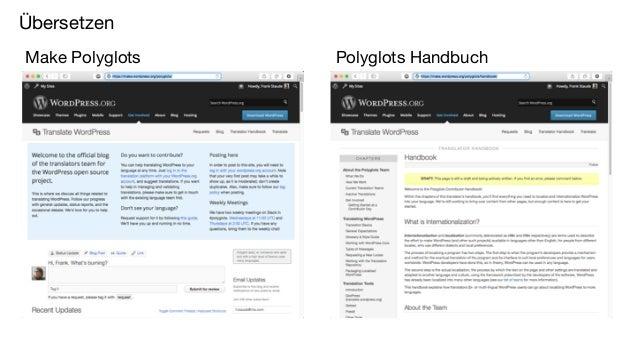 Übersetzen Make Polyglots Polyglots Handbuch