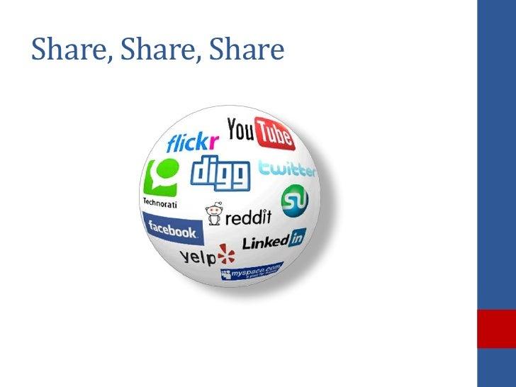 Share, Share, Share